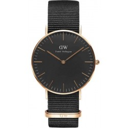 Buy Daniel Wellington Unisex Watch Classic Black Cornwall 36MM DW00100150