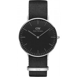 Buy Daniel Wellington Unisex Watch Classic Black Cornwall 36MM DW00100151