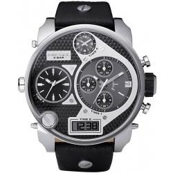 Diesel Men's Watch Mr. Daddy Chronograph 4 Time Zones DZ7125