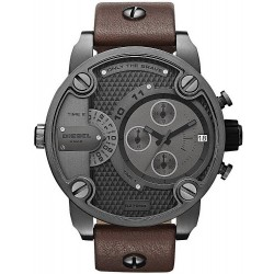 Buy Diesel Men's Watch Little Daddy Dual Time Chronograph DZ7258