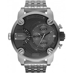 Buy Diesel Men's Watch Little Daddy Dual Time Chronograph DZ7259