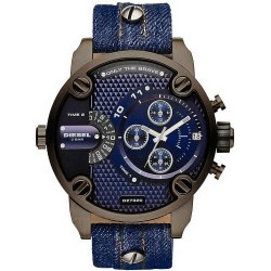 Buy Diesel Men's Watch Little Daddy DZ7320 Dual Time Chronograph