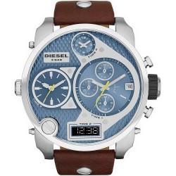 Diesel Men's Watch Mr. Daddy DZ7322 Chronograph 4 Time Zones