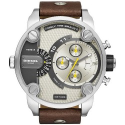 Buy Diesel Men's Watch Little Daddy DZ7335 Dual Time Chronograph