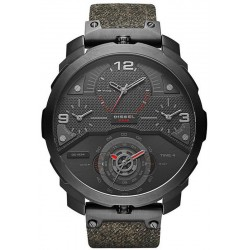 Buy Diesel Men's Watch Machinus DZ7358 4 Time Zones