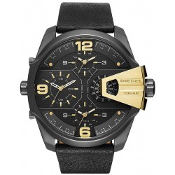 Diesel Men's Watch Uber Chief DZ7377 4 Time Zones