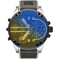 Diesel Men's Watch Mr. Daddy 2.0 Chronograph 4 Time Zones DZ7429