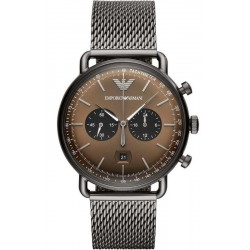 Buy Emporio Armani Men's Watch Aviator AR11141 Chronograph