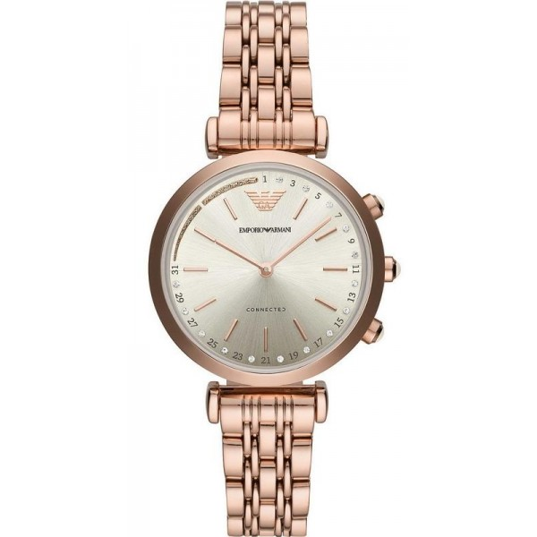 Buy Emporio Armani Connected Women's Watch Gianni T-Bar ART3026 Hybrid Smartwatch