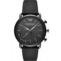 Buy Emporio Armani Connected Men's Watch Aviator ART3030 Hybrid Smartwatch