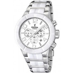 Festina Men's Watch Ceramic F16576/1 Quartz Chronograph