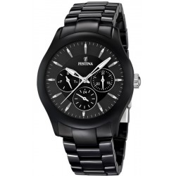 Festina Men's Watch Ceramic Quartz Multifunction F16639/2