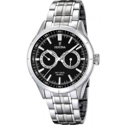 Festina Men's Watch Elegance F16780/4 Multifunction Quartz
