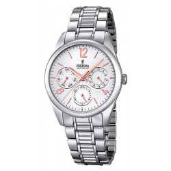 Festina Women's Watch Boyfriend Quartz Multifunction F16869/1