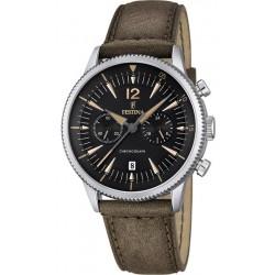 Festina Men's Watch Retro F16870/3 Quartz Chronograph