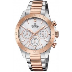 Buy Festina Women's Watch Boyfriend F20398/1 Quartz Chronograph