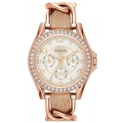 Fossil Women's Watch Riley ES3466 Multifunction Quartz