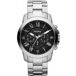 Fossil Men's Watch Grant Quartz Chronograph FS4736