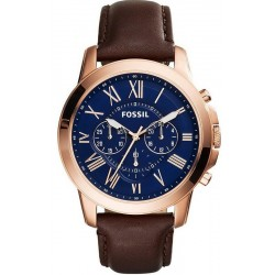 Fossil Men's Watch Grant FS5068 Chronograph Quartz