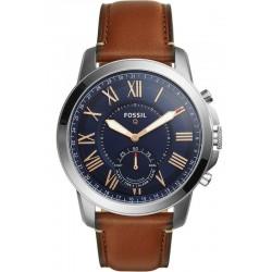 Fossil Q Grant Hybrid Smartwatch Men's Watch FTW1122