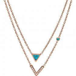 Buy Fossil Women's Necklace Fashion JF02644791