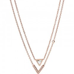 Buy Fossil Women's Necklace Fashion JF02897791