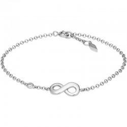 Fossil Women's Bracelet Sterling Silver JFS00393040