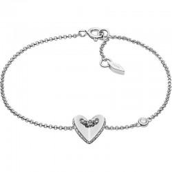 Fossil Women's Bracelet Sterling Silver JFS00424040