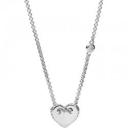 Fossil Women's Necklace Sterling Silver JFS00425040