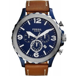 Fossil Men's Watch Nate JR1504 Chronograph Quartz