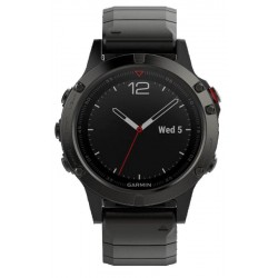 Buy Garmin Men's Watch Fēnix 5 Sapphire 010-01688-21