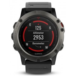 Buy Garmin Men's Watch Fēnix 5X Sapphire 010-01733-01