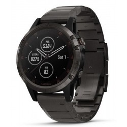 Buy Garmin Men's Watch Fēnix 5 Plus Sapphire 010-01988-03
