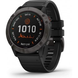 Buy Garmin Mens Watch Fēnix 6X Pro Solar Titanium 010-02157-21