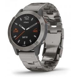Buy Garmin Mens Watch Fēnix 6 Sapphire 010-02158-23