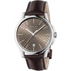 Buy Gucci Men's Watch G-Timeless Large Slim YA126318 Quartz