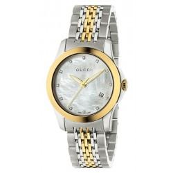 Buy Gucci Women's Watch G-Timeless Small YA126513 Quartz
