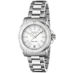 Buy Gucci Women's Watch Dive Medium YA136402 Quartz
