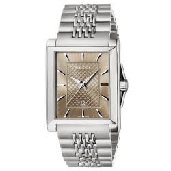Buy Gucci Men's Watch G-Timeless Rectangular Medium YA138402 Quartz