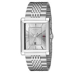 Buy Gucci Men's Watch G-Timeless Rectangular Medium YA138403 Quartz