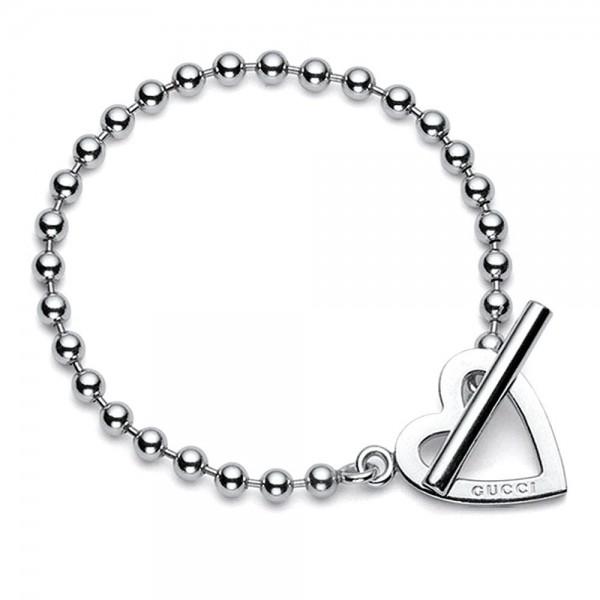 Buy Gucci Women's Bracelet Toggle Heart YBA181447001016