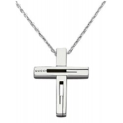 Gucci Men's Necklace Silver YBB22836400100U