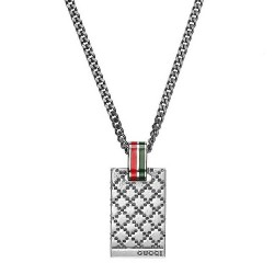 Gucci Men's Necklace Diamantissima YBB31048100100U