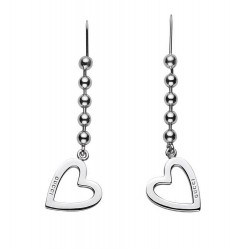 Buy Gucci Women's Earrings Toggle Heart YBD18144500100U