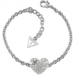 Buy Guess Women's Bracelet Glossy Hearts UBB51492