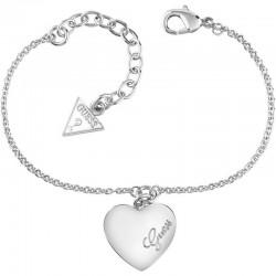 Buy Guess Women's Bracelet Heartbeat UBB61043-S