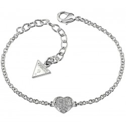 Buy Guess Women's Bracelet Heartshelter UBB71518-S