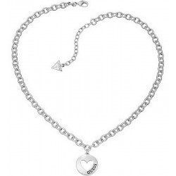 Buy Guess Women's Necklace G Girl UBN51430