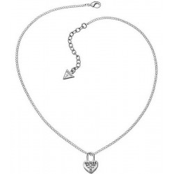 Buy Guess Women's Necklace Love Lock UBN51449