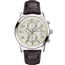 Buy Guess Men's Watch Exec Chronograph W0076G2